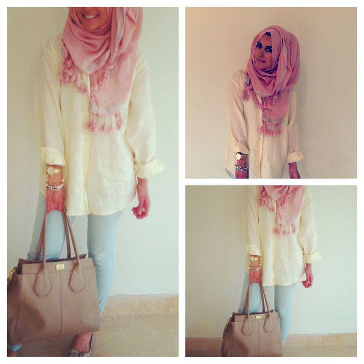 Dina Tokio - pastel. #hijab