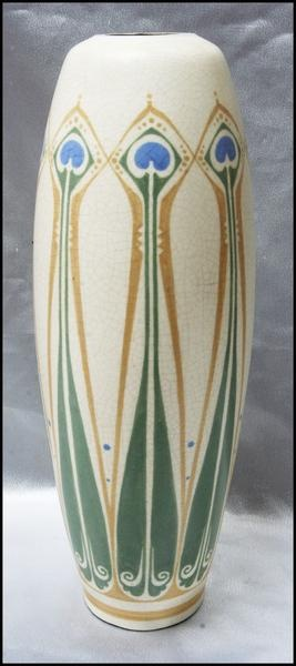 DISTEL Pottery Lamp base nouveau ceramics clay