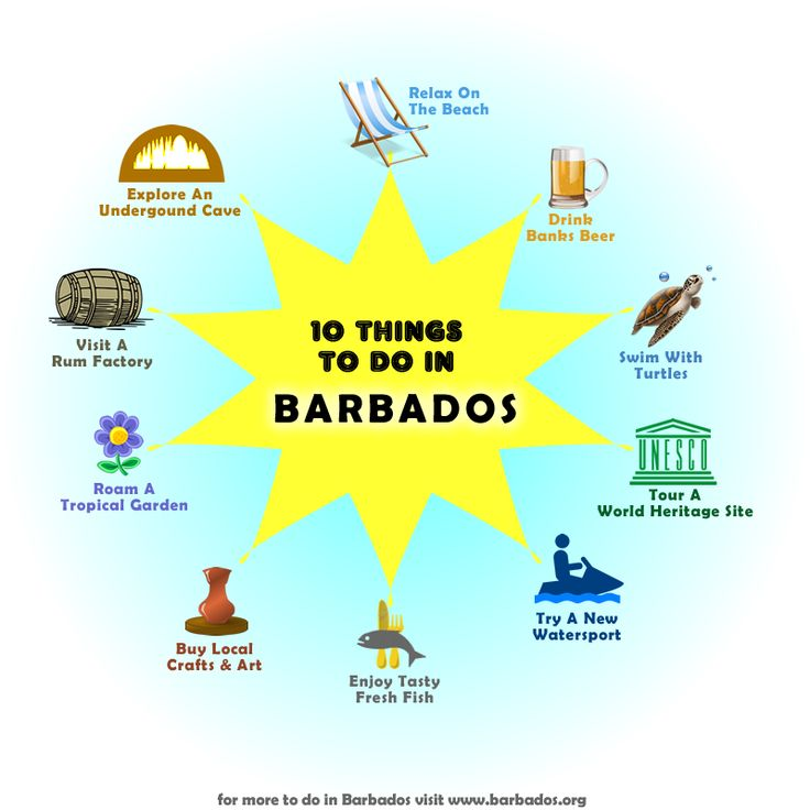 We Love This Selection Of 10 Things To Do In Barbados