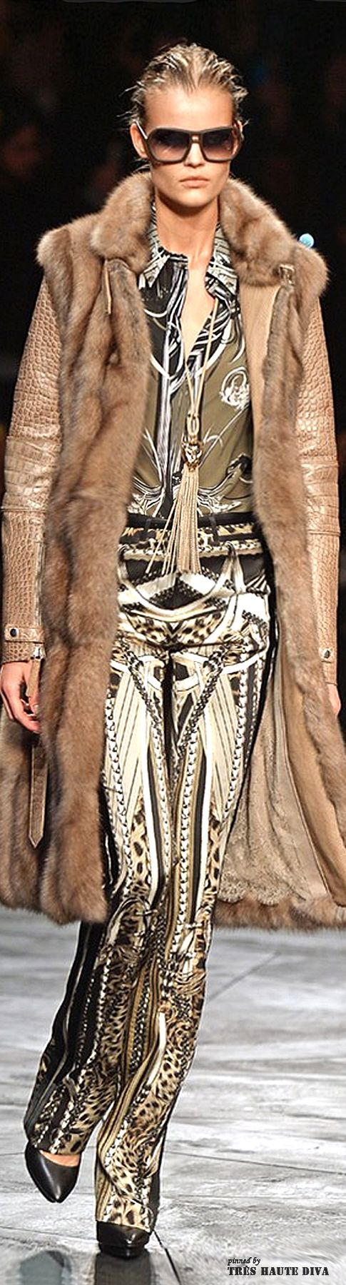 #Milan Fashion Week Roberto Cavalli Fall/Winter 2014 RTW