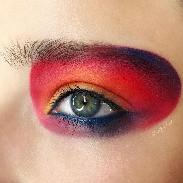"1,935 mentions J'aime, 14 commentaires - Olga Fox (@olga_fox) sur Instagram: ""Hello, sun ☀️ Makeup @olga_fox  Used @inglotrussia  #inglotrussia #inglotcosmetics…"""