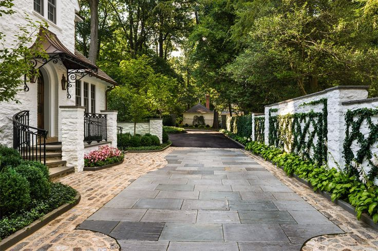 265 best images about exterior motor court driveways for Hess landscape architects