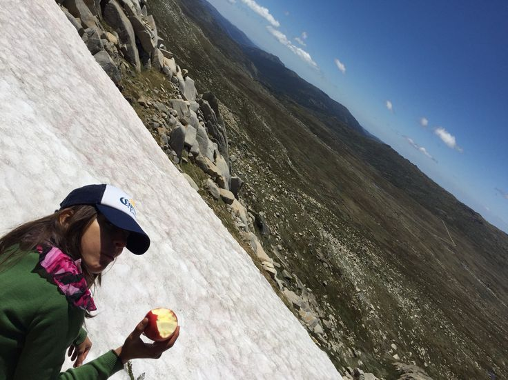 Lunch. Mount Kosciusko