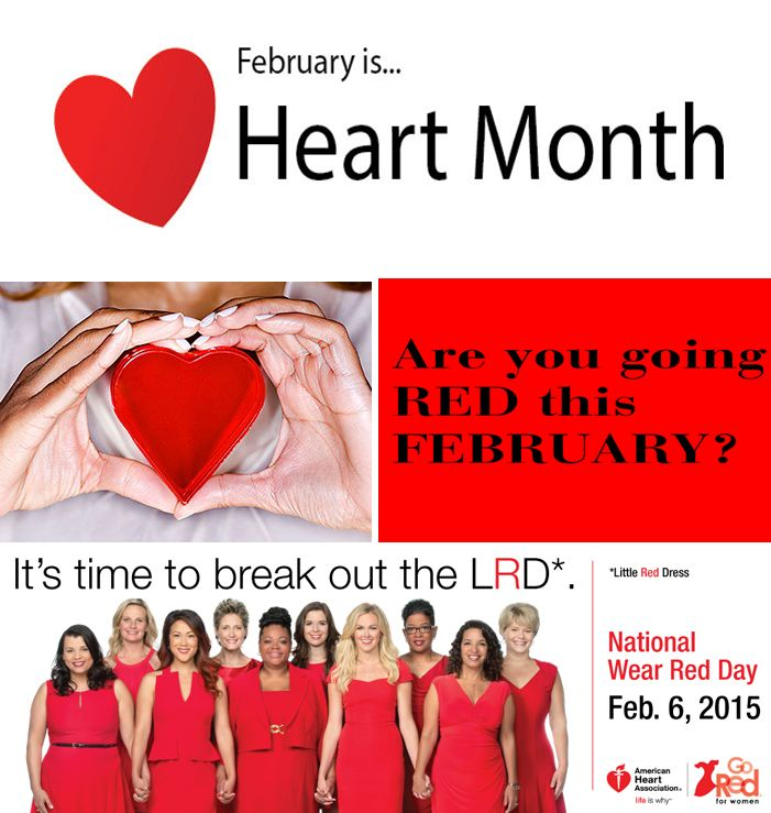 Integrated Health Partners :: Showcase - February is Heart ...  |For Heart Month Wear Red