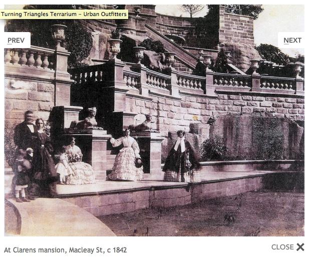 Macleay St, Sydney, c. 1842