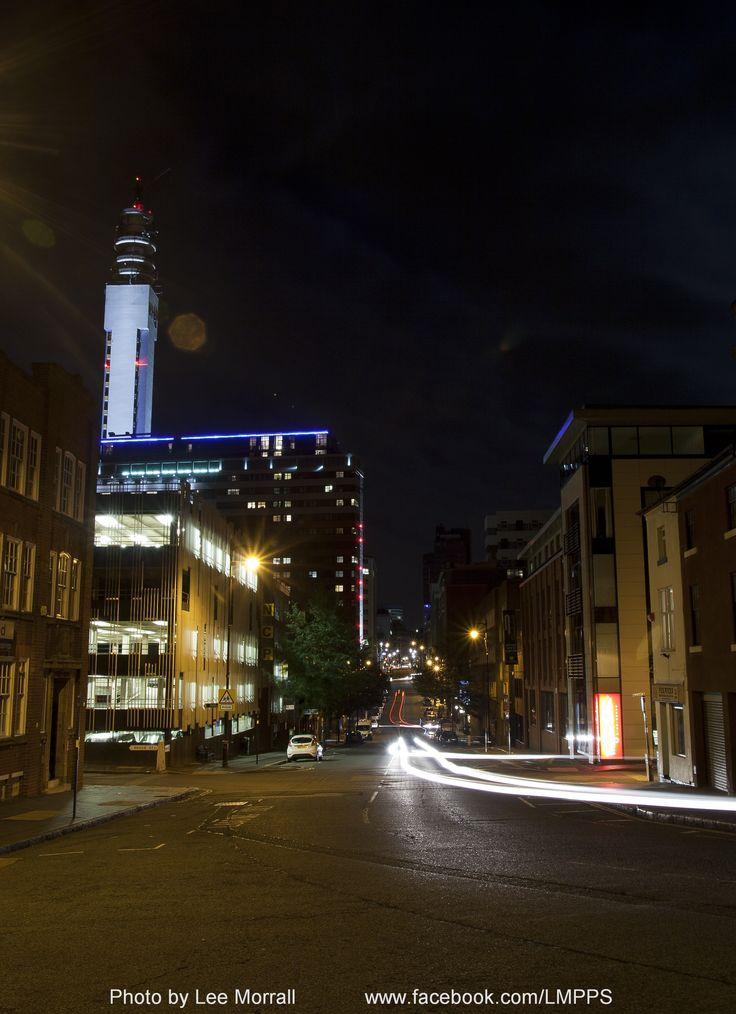 The Jewellery Quarter at night - Birmingham, England.