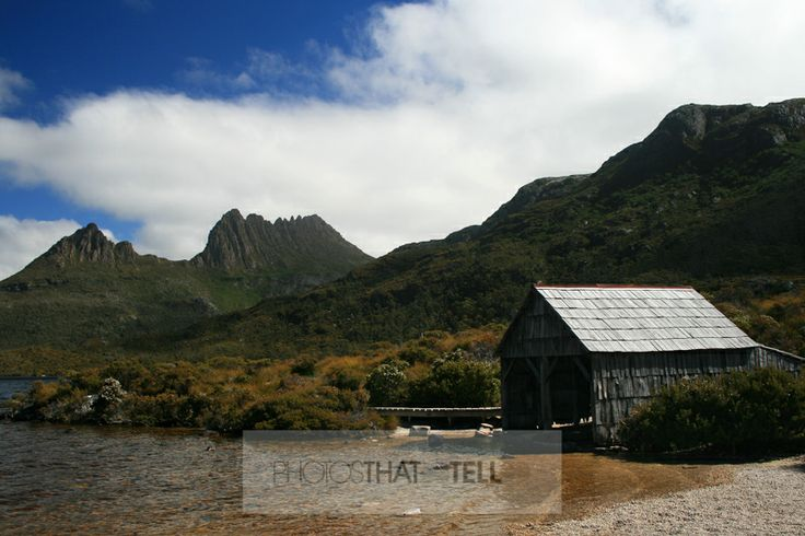 Cradle Mountain and Boat Shed