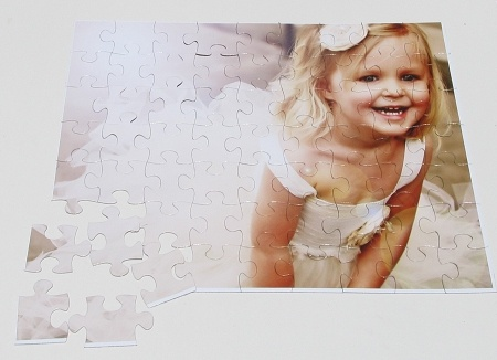 Love this idea - customized puzzles for the kiddos to do together while being able to recognize familiar faces and memories!    #TMPPCcontest