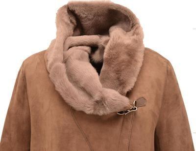 Vêtement en cuir Moutons, Fourrures CUIRS GUIGNARD beige