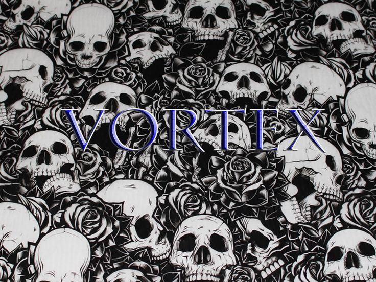 Hydrographics Film Bones N Roses Skulls 32.5 sqft Water Transfer Printing dip #VortexDipKitVortexdipkit