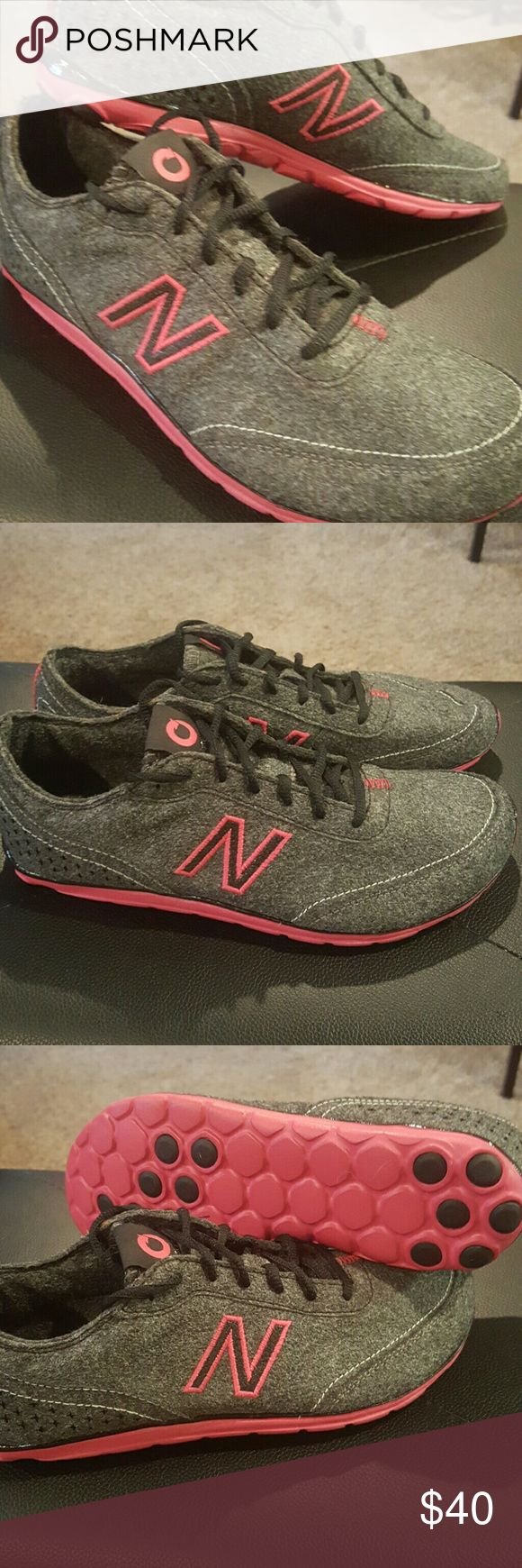 New Balance Featherlite New Sky Ladies Sneakers NWOB 10/10. Grey textile in grey and Pink. Lightest shoes I've ever seen!! Size 7 New Balance Shoes Sneakers