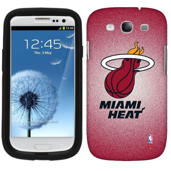 Miami Heat Samsung Galaxy S3 Case - Red - $14.99