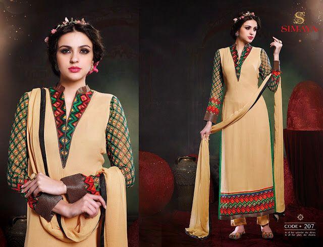 Simmaya Georgette Designer suits ( 11 pcs Catalog)