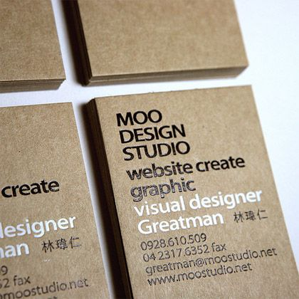The best 65 business cards of the year. The final collection. - Blog of Francesco Mugnai