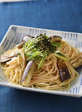 なすの和風冷製たらこスパゲティ by 日清フーズ [クックパッド] 簡単 ...