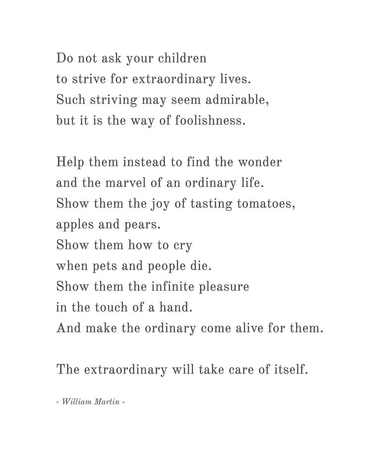 the extraordinary will take care of the itself