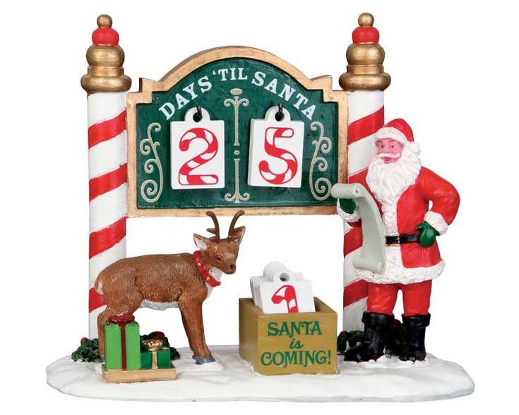 Weihnachts-Countdown LEMAX 53208 - Winter und Weihnacht Figuren und Ergänzungen Figurengruppen - www.alles-mini.de