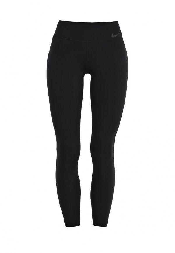 Тайтсы Nike W NK PWR LGNDRY TGHT Тайтсы Nike. Цвет: черный.  Сезон: Осень-зима 2016/2017. Одежда, обувь и аксессуары/Мужская одежда/Брюки