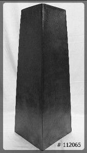 Pedestal Black Modern 42 inch tall   10x10 top   112065