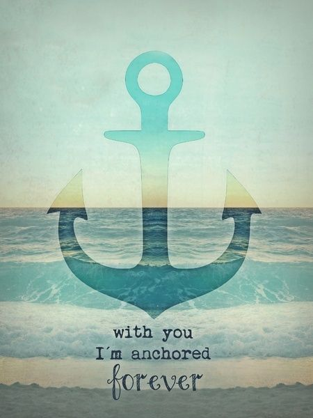 Getting an anchor and this saying as a tattoo when I marry my lover❤️