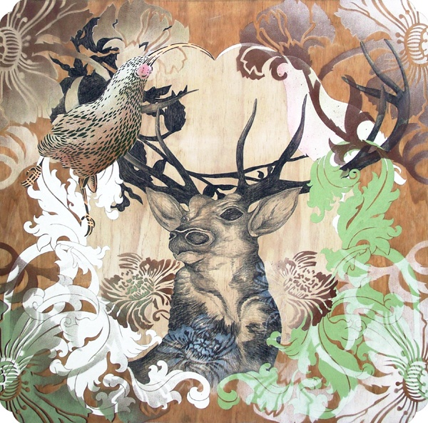 commission. flox  deer, huia