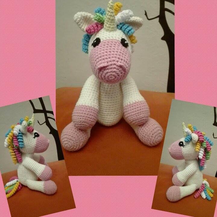 Crochet jednorožec :-)
