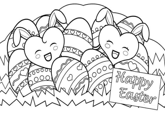 Easter Coloring Pages To Print Easter Coloring Pages Printable Easter Coloring Book Bunny Coloring Pages