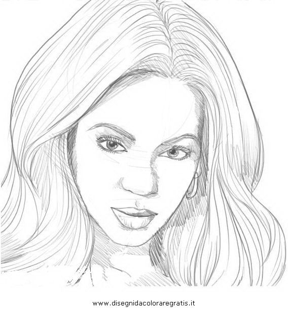 Coloring Pages Of People S Faces