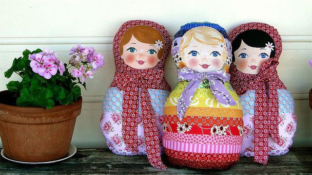 Кукла матрёшка своими руками