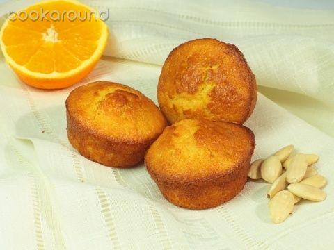 Muffins al succo d'arancia