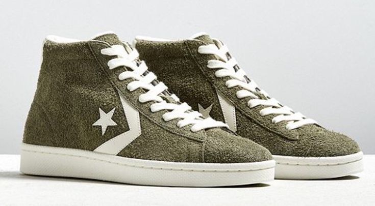 Asolo High Top Leather Shoes Blue And White
