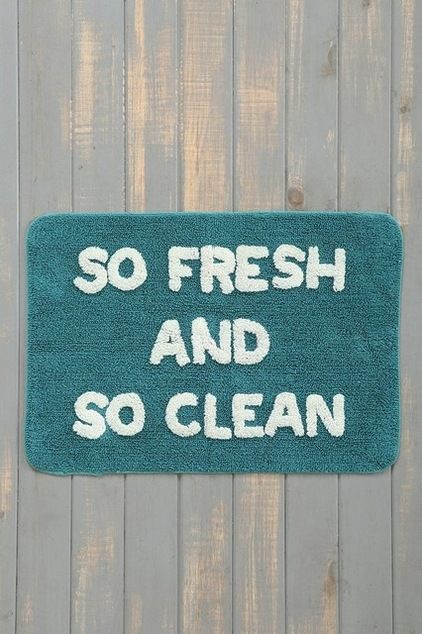 Awesome bath mat // contemporary bath mats by Urban Outfitters
