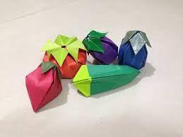 Image result for origami vegetables