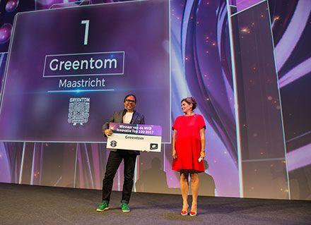Greentom wint MKB Innovatie Top 100