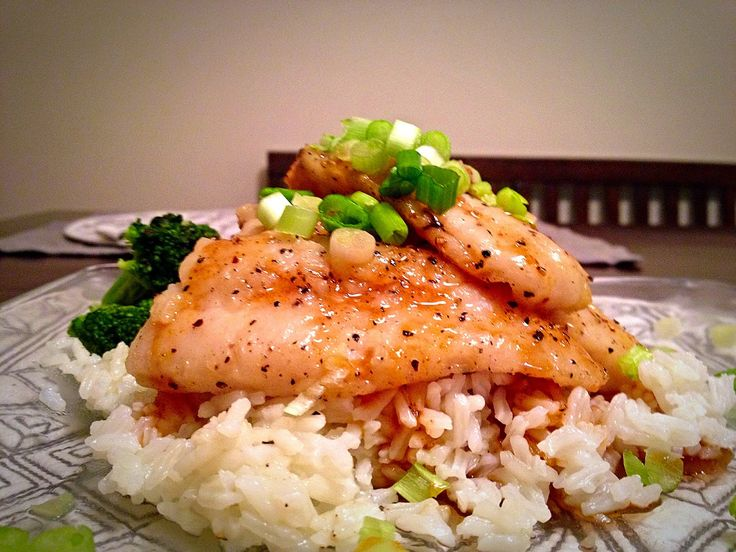 Asian glazed swai fish recipe jasmine jasmine rice for Rice recipes to go with fish