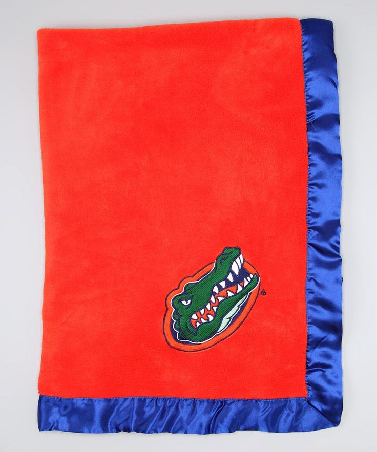 Florida Gators baby blanket