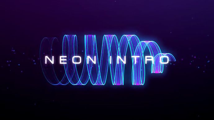 After Effects - Glowing Neon Trails with Trapcode Particular Tutorial