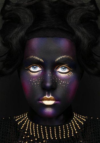 Make-up Artist: Alex Box | Artistic & Editorial #theatre #stage makeup.