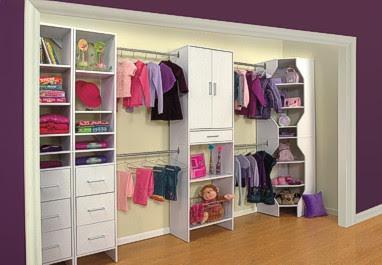 closet infantil niña