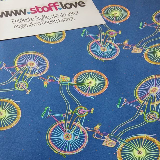 There are nine million bicycles in Beijing... #stofflove #fabricoftheday