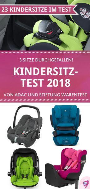 Neuer ✔ Kindersitz Test 2018 ✔ von ADAC & Stiftung Warentest: Welcher Kindersitz ist der beste?