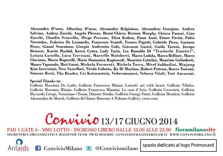 """here the artist at #convivio 2014 at the stand """"Fine Cheap Art"""" #iloveConvivio"""
