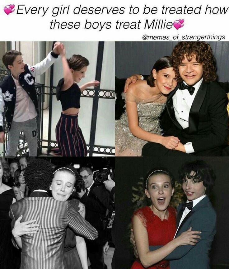 xoxo - and vise versa...boys should be treated like Millie treats these boys