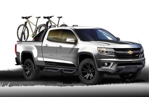 2015 Chevrolet Colorado Sport Concept Wallpaper