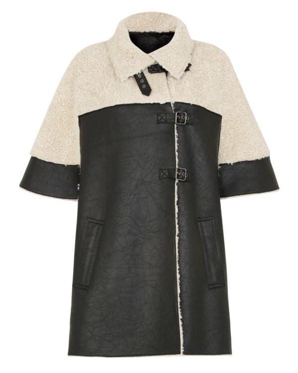 TK Maxx's shearling coat