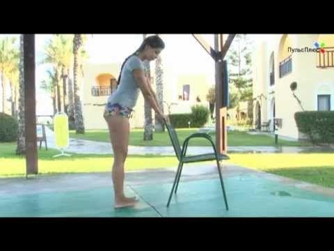 Фитнес дома: восстановление после травмы мениска - YouTube
