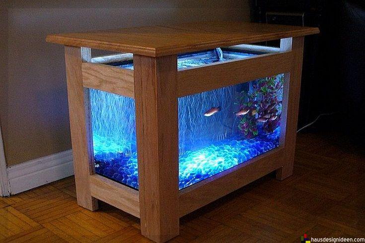 die besten 25 couchtisch aquarium ideen auf pinterest. Black Bedroom Furniture Sets. Home Design Ideas