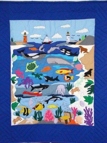 173 Best Lighthouse Quilts Images On Pinterest Appliques