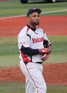Wladimir Balentien a Professional baseball player with Tokyo Yakult Swallows Nippon Professional Baseball.