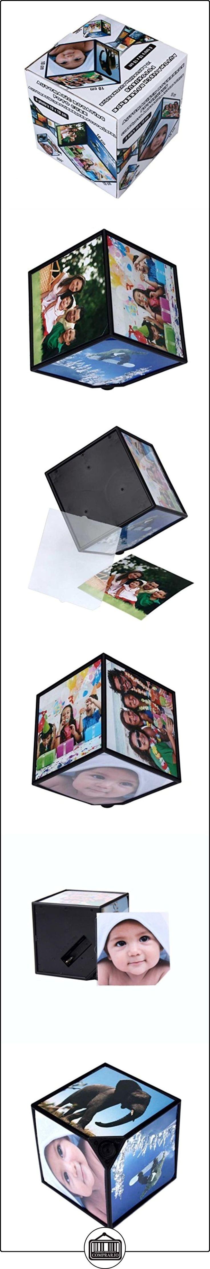 Kaiki rotación de frame,360 rerating revoling multi - Picture Photo Frames cubo negro decoracion de la casa familia  ✿ Regalos para recién nacidos - Bebes ✿ ▬► Ver oferta: http://comprar.io/goto/B01N3OWMWG